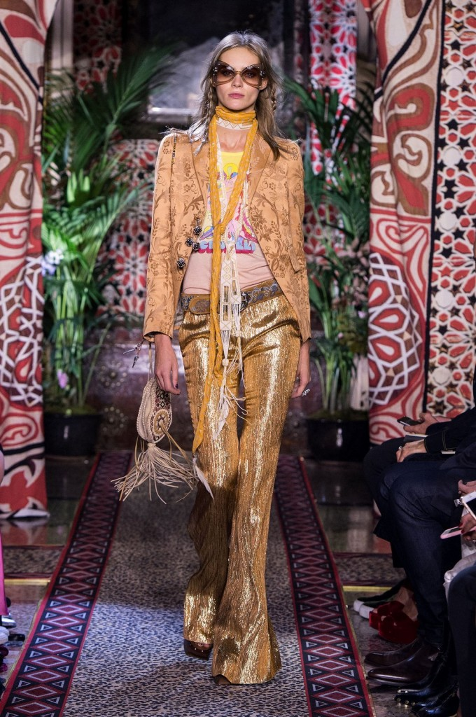 Milan Fashion Week: Roberto Cavalli Spring-Summer 2017 Collection