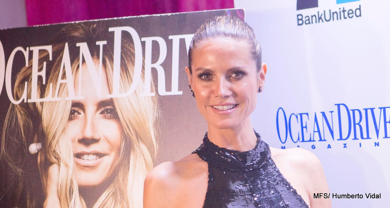 Ocean Drive Magazine and Roche Bobois Celebrate the December Issue with Cover Star Heidi Klum
