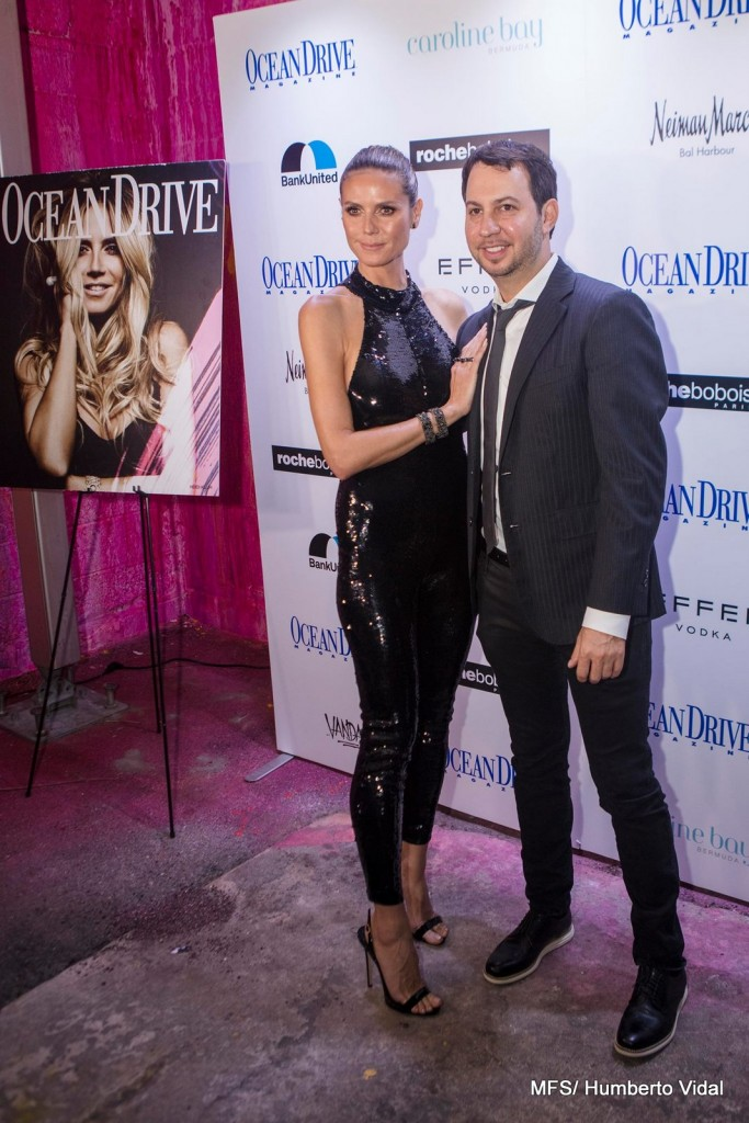 """Ocean Drive Magazine and Roche Bobois Celebrate the December Issue with cover star Heidi Klum and the FURTIF ART PROJECT, Roche Bobois Warehouse, Wynwood"