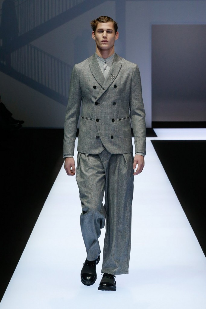 Milan Fashion Week Fall-Winter 2017-2018: Giorgio Armani Menswear