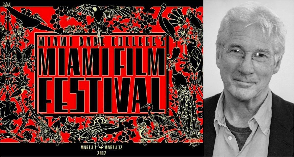 Richard Gere opens 34th Edition of Miami Dade College's Miami Film Festival