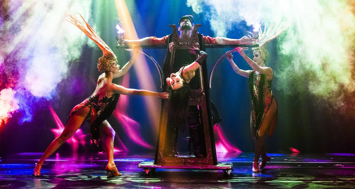 Live the Illusion with Magique at Faena Theater: Every Sunday & Tuesday