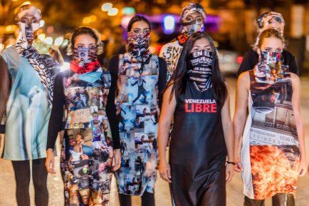 Lisu Vega presenta colección ' Resistencia' inspirada en los héroes caídos en Venezuela