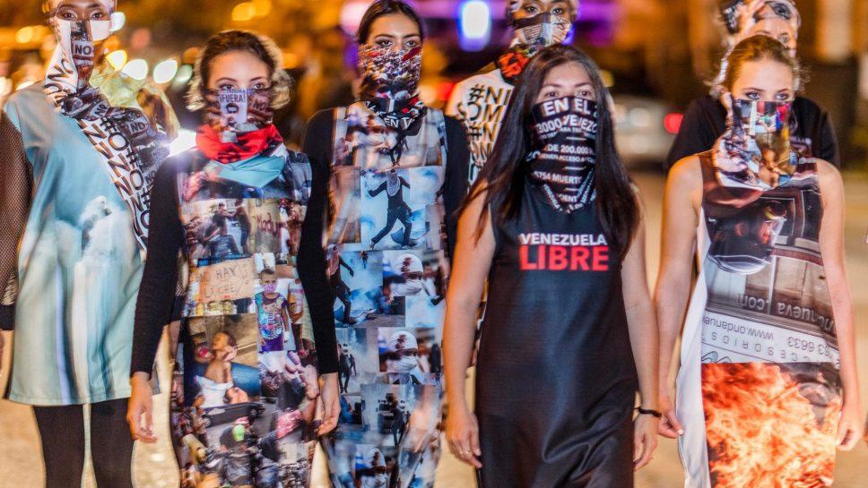 Lisu Vega presenta colección 'Resistencia' inspirada en los héroes caídos en Venezuela