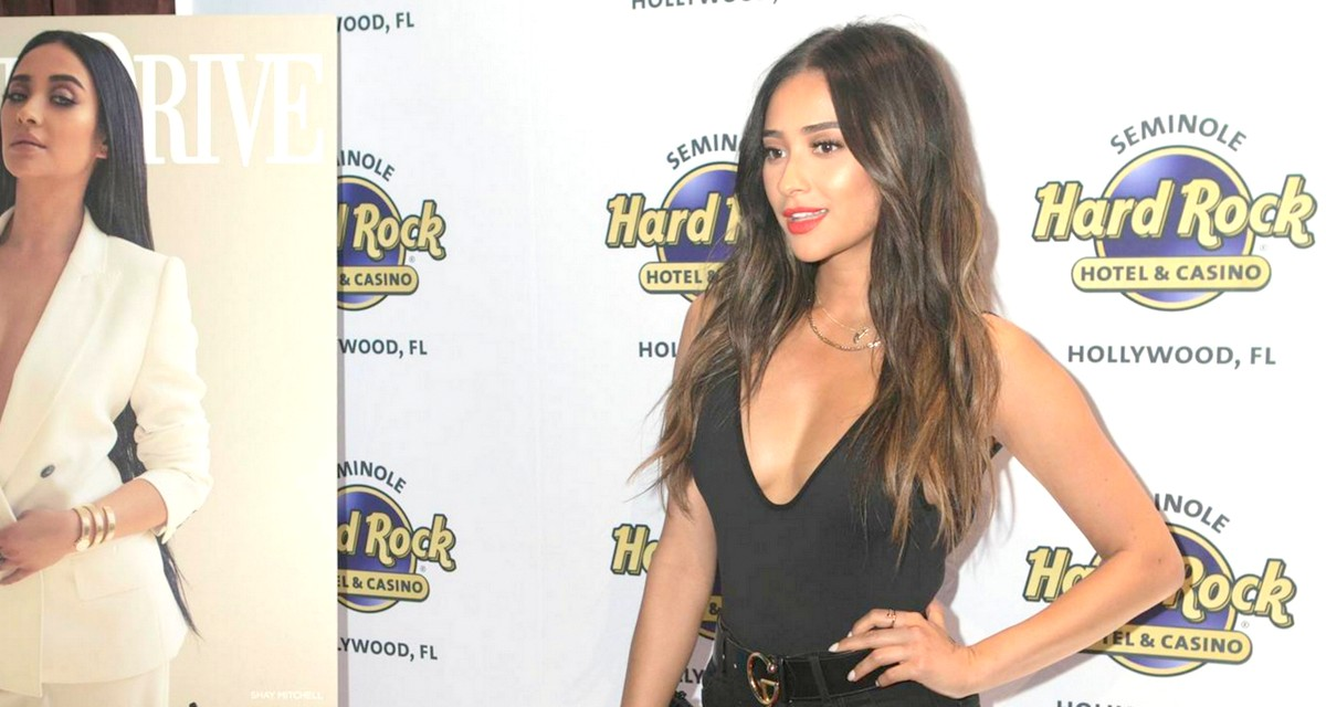 Shay Mitchell of 'Pretty Little Liars', celebrates her cover of Ocean Drive Magazine looking smashing at Kuro at the Seminole Hard Rock Hotel & Casino