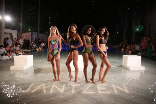 Kate Bock and Ocean Drive Magazine kicked off Miami Swim Week at Delano South Beach