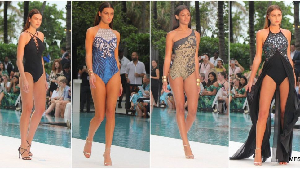 Gottex Swimwear Takes over SwimMiami with Futuristic Black and Sexy Styles
