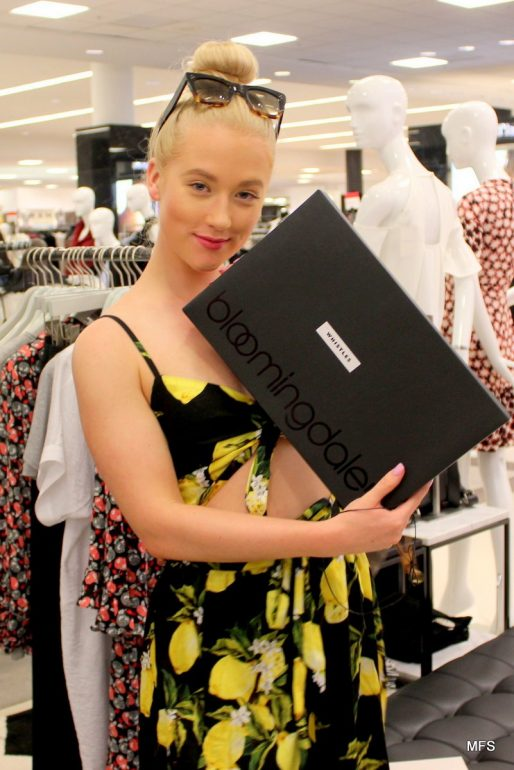 Fashion Icon Vesta Lugg Takes over Bloomingdales Aventura