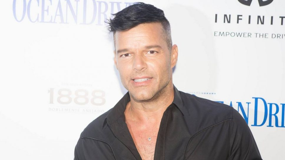 Ricky Martin and Ocean Drive Magazine celebrated October Issue