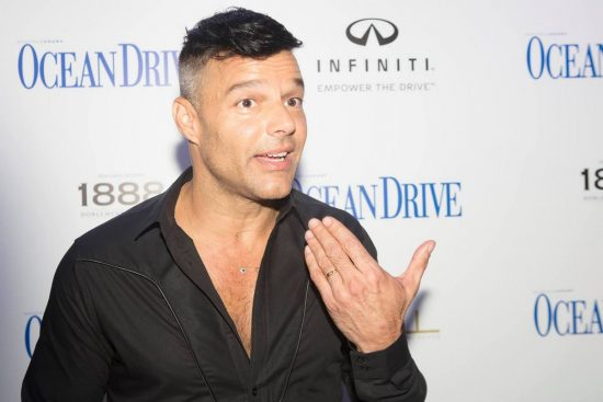 """Ocean Drive Magazine and Ricky Martin honor Hurricane Victims in Puerto Rico at October Issue Debut at Wall at W South Beach"""