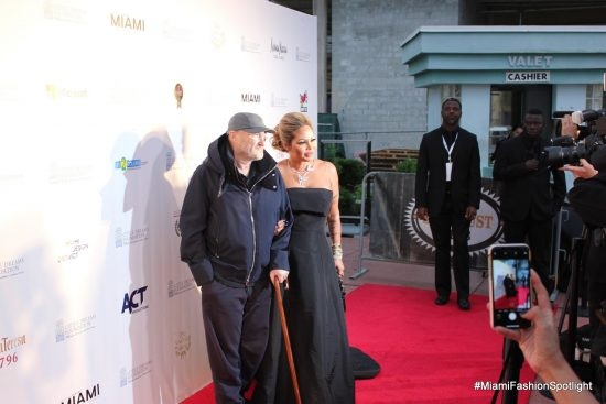Phil Collins & Orianne Collins Emcee the 3rd annual Dreaming on the Beach Gala
