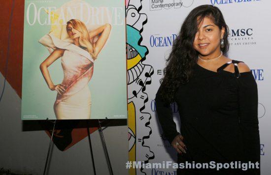 Paris Hilton Celebra su Portada de la revista Ocean Drive en Mana Contemporary, Wynwood durante Art Basel 2017