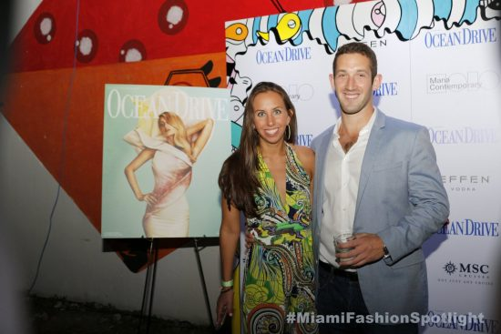 Paris Hilton graces Wynwood's Mana Contemporary in celebration of her cover of Ocean Drive magazine for Art Basel 2017