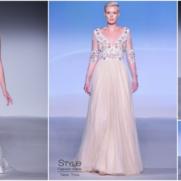 Style Fashion Week: Carmen Marc Valvo & Lotus Threads showcased FW'18 Bridal Collections during NYFW