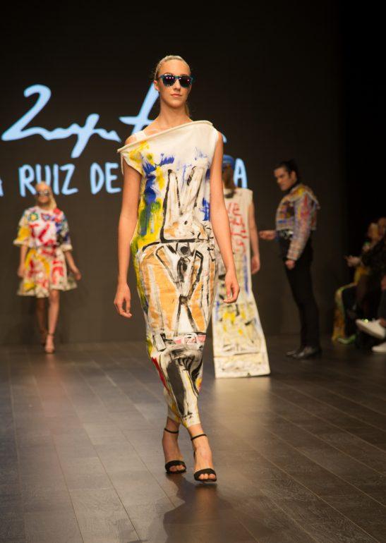 Domingo Zapata y Agatha Ruiz de la Prada realizan exitosa colaboración de moda en Los Ángeles Fashion Week