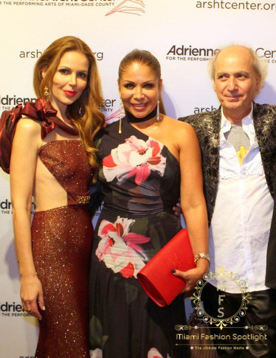 Athina Marturet, Lissette Rondon y Eduardo Marturet