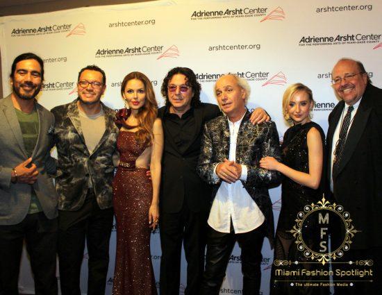 Jose Ibañez, Carlos Anaya, Athina Marturet, Rudy Perez, Eduardo Marturet, Haven Star & Ed Calle