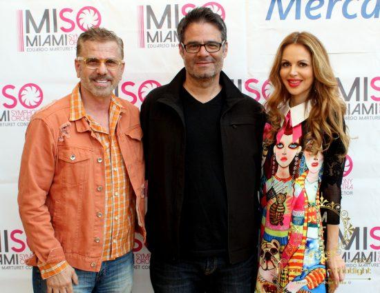 Miguel Fernando, Luis Chataing & Athina Marturet