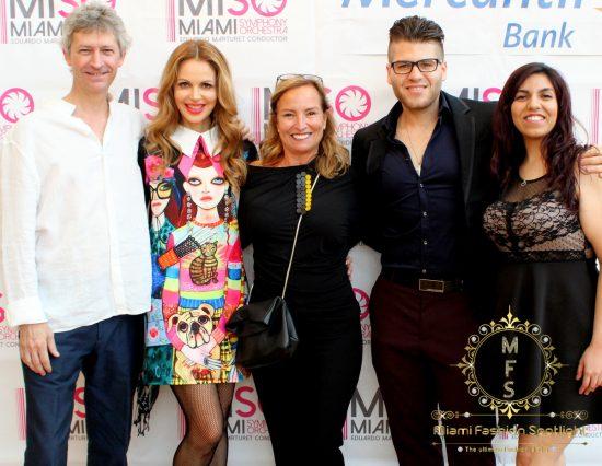 Oscar Bustillo, Athina Marturet, Alicia Sanchez, Andres Grille & Maria Soto