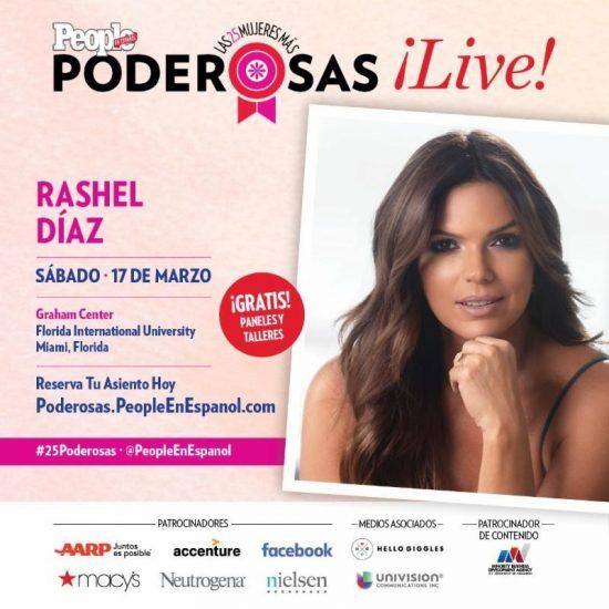 Rashel Díaz entre las '25 Mujeres Más Poderosas' de People en Español