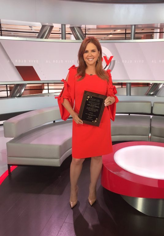 María Celeste Arrarás Tendrá Su Estrella En El Paseo De Las Vegas