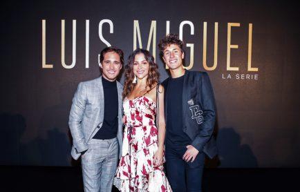 Telemundo presentó en exclusiva el primer episodio de la historia official 'Luis Miguel La Serie' en Beverly Hill