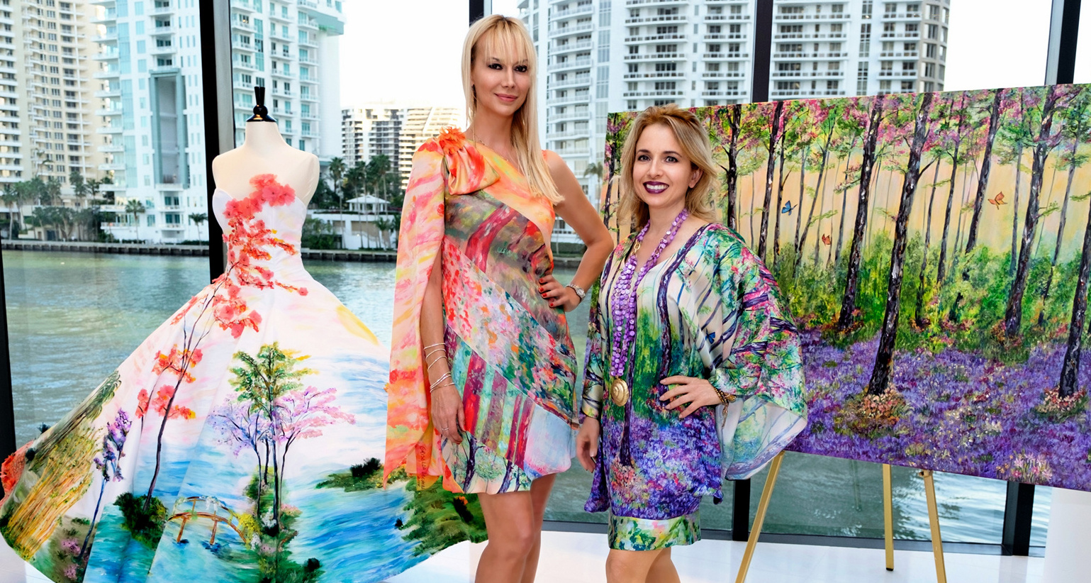 TA Couture, Griselda Lechini and Aston Martin Residences Host Amazing Art & Fashion Event
