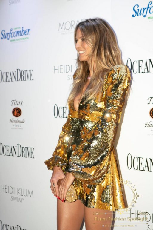 Miami Swim Week 2018 Kick-off party: Ocean Drive Magazine Celebrates Its 25th Anniversary Swimsuit Double-Issue with Cover Star Heidi Klum