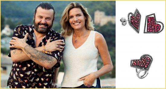 Isabel Guarch, la joyera favorita de la reina Sofía, presenta junto a Agatha Ruiz de la Prada, la colección 'Happy Heart' durante el NYFW