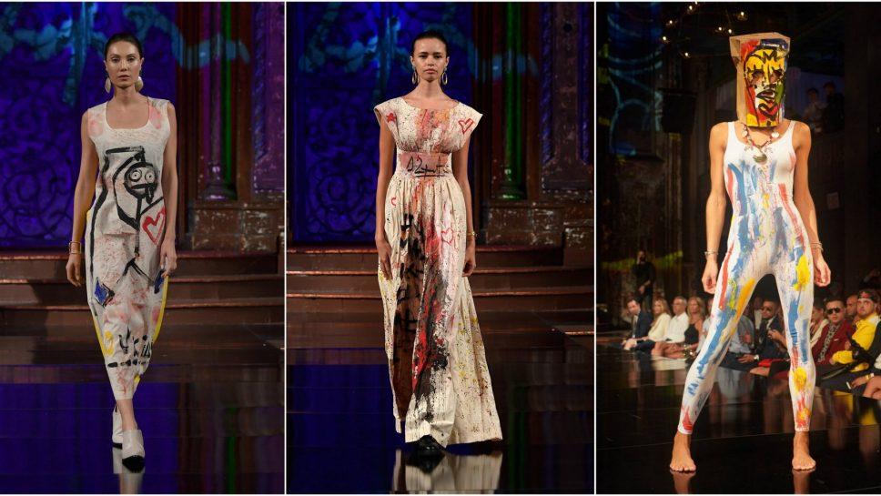 Un espectáculo sin precedentes Domingo Zapata junto a Nicky Jam e Isabel Guarch en New York Fashion Week
