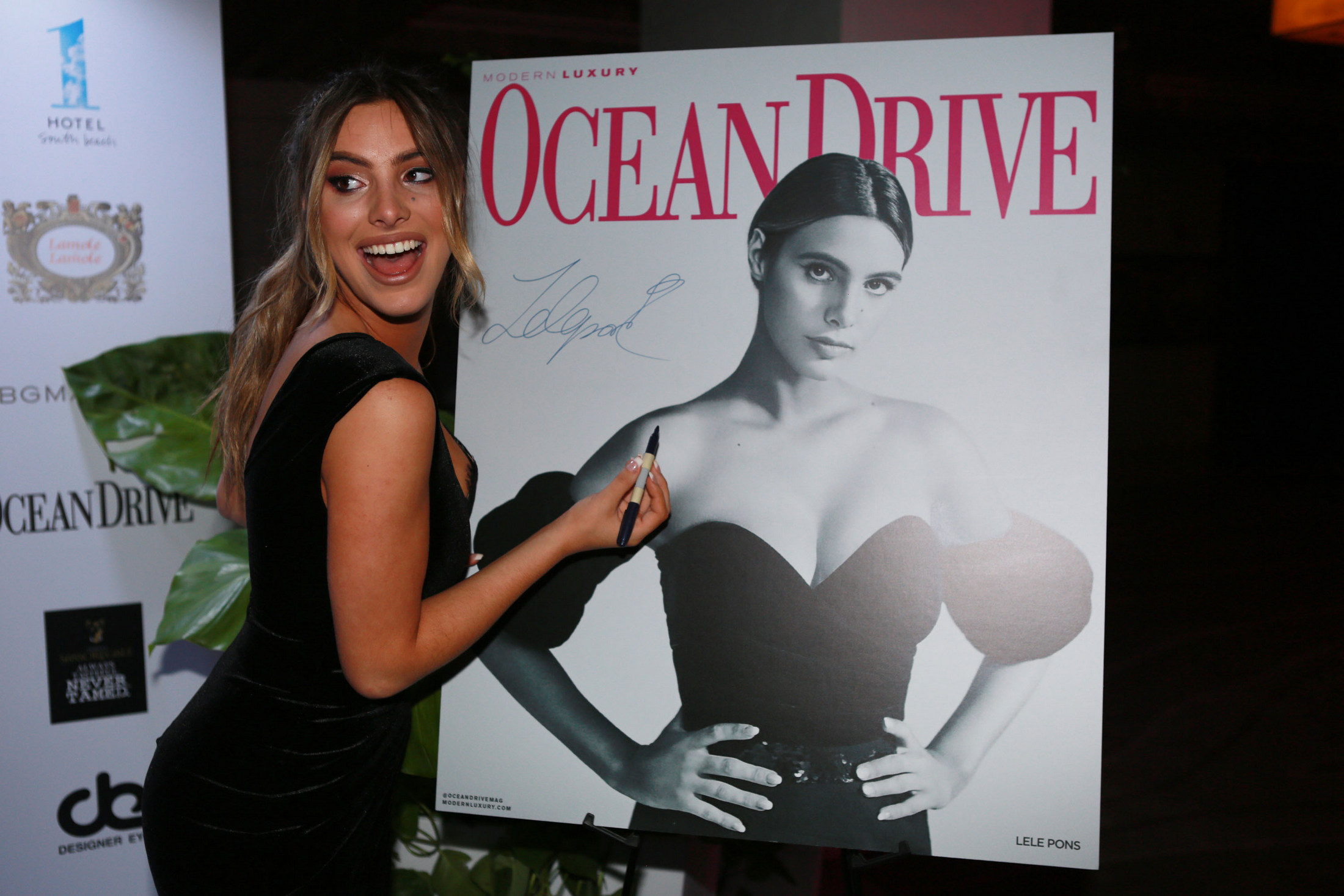 Ocean Drive Magazine kicks off Art Basel 2018 with Lele Pons at the 1 Hotel