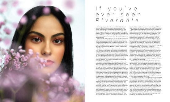 Camila Mendes talks working with Noah Centineo and filming Riverdale