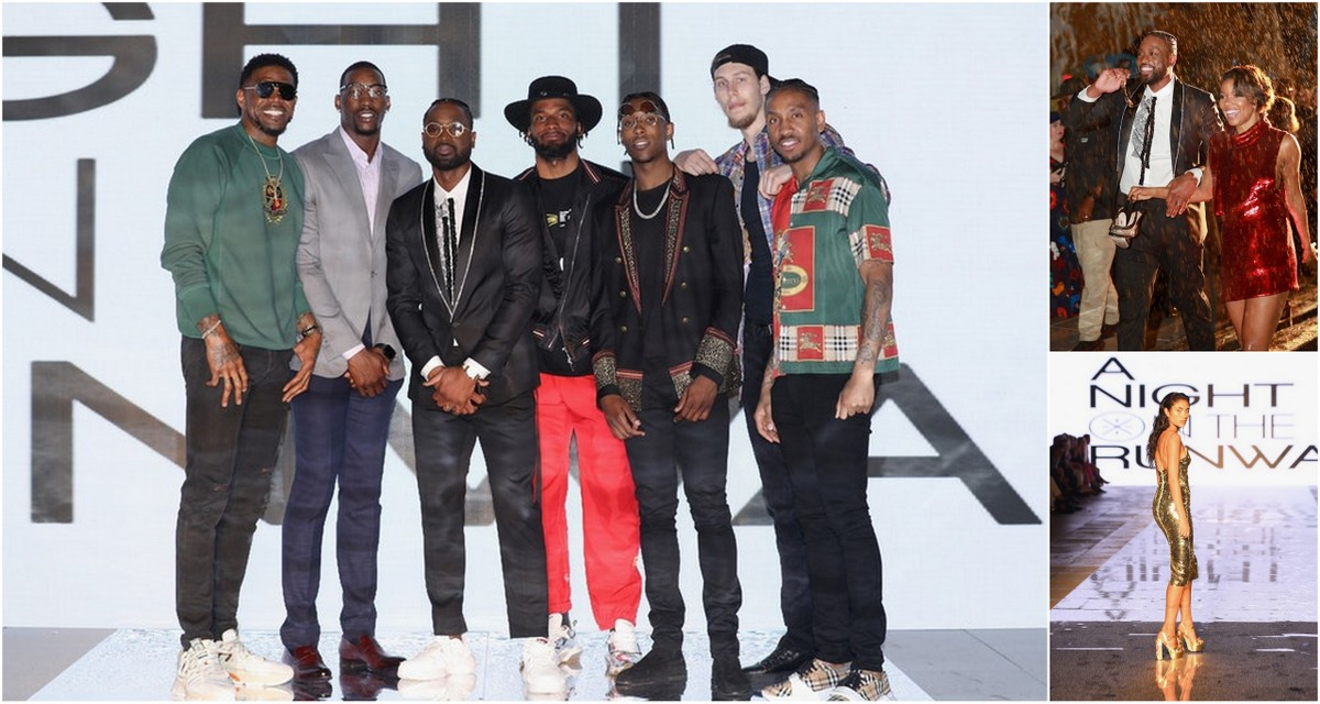 NBA Champion and Style Icon Dwyane Wade Hosts Carnival Foundation's a Night on the Runwade