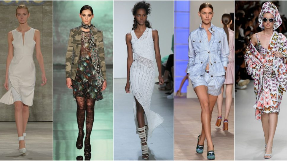 Five Must-Have Fashion Trends For Spring 2019