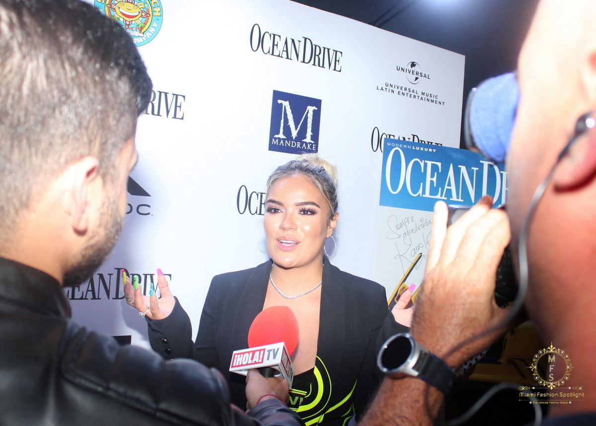 Ocean Drive Magazine Celebrates April Issue with Cover Star and Chart-Topping Reggaeton Artist Karol G