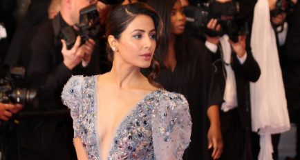 Cannes 2019 Red Carpet Looks: Actress Mrs Hina Khan dressed by Ziad Nakad