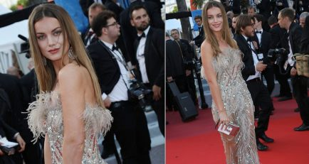 Cannes 2019 Red Carpet Looks: Model Heidi Lushtaku