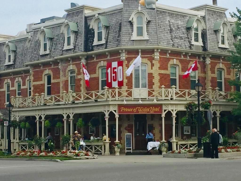 The Prince of Wales Hotel at Niagara-on-the-Lake.