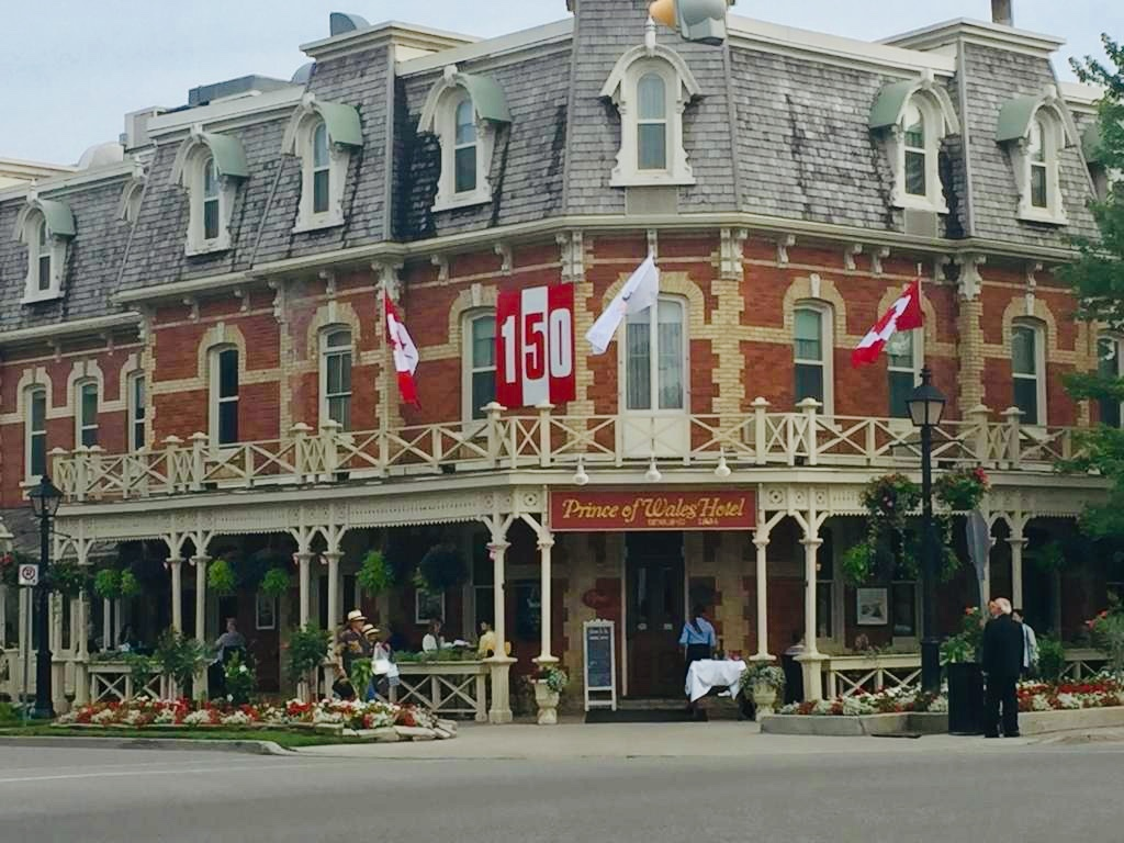 The Prince of Wales Hotel at Niagara-on-the-Lake.