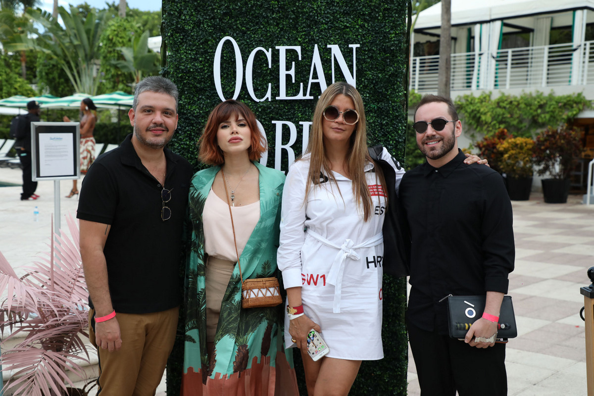 Ocean Drive magazine and Brazilian Supermodel Isabeli Fontana kick off Miami Swim Week 2019 at Swim Issue Debut at Kimpton Surfcomber Hotel South Beach