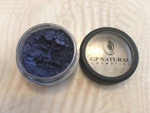 GP NATURAL COSMETICS. MINERAL EYE SHIMMER: BELL BOTTOM BLUE