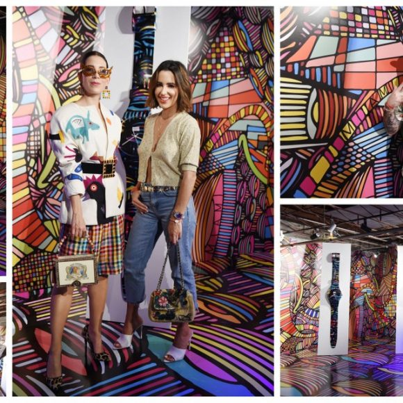 Ahol Sniffs Glue Hosts Swatch x You Event