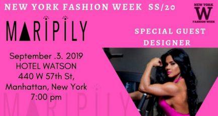Maripily participará en el 'New York Fashion Week' el 3 de Septiembre