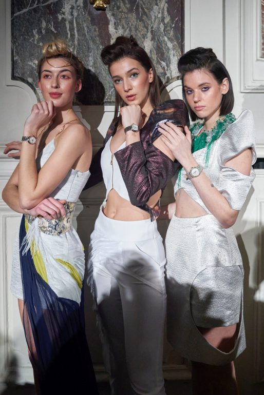 Maurice Lacroix presented new collection during Paris Haute Couture Fashion Week