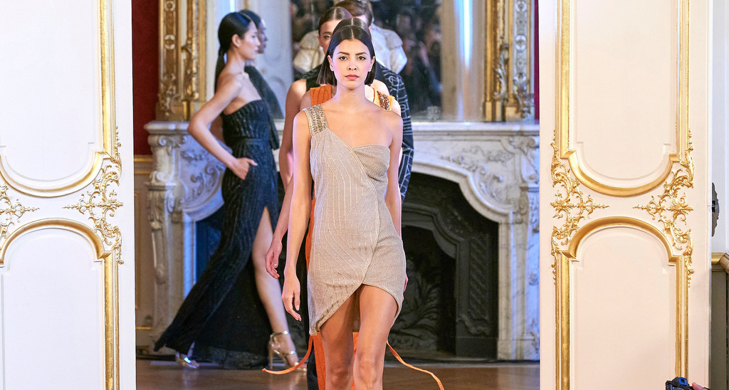 Maria Aristidou SS2020 Knit Couture Collection: Paris Fashion Week Haute Couture SS20
