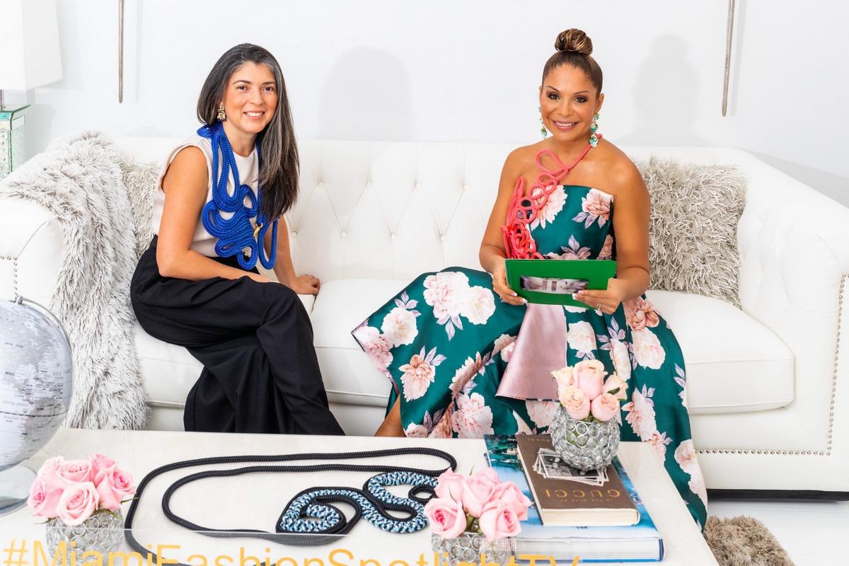 Lisu Vega en Miami Fashion Spotlight TV
