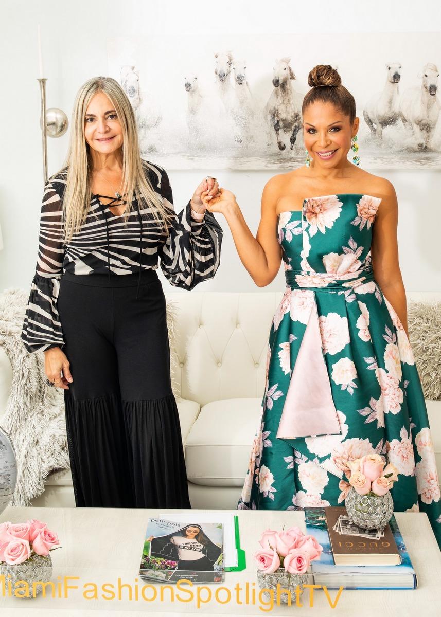 Viviana Gabeiras presenta colección 'América Mia' en nuestra serie 'Diseñadores con Gran Influencia en Miami y Latinoamérica' en Miami Fashion Spotlight TV
