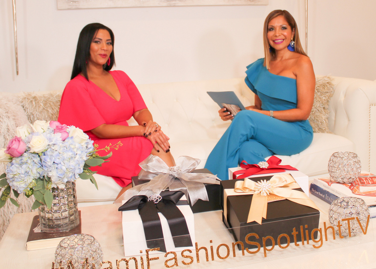 Candi Berger en Miami Fashion Spotlight TV