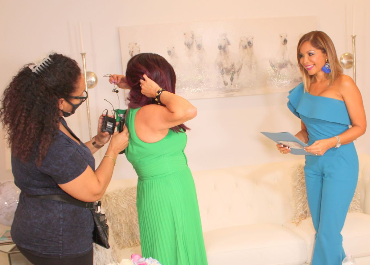 Jenna Levine en Miami Fashion Spotlight TV