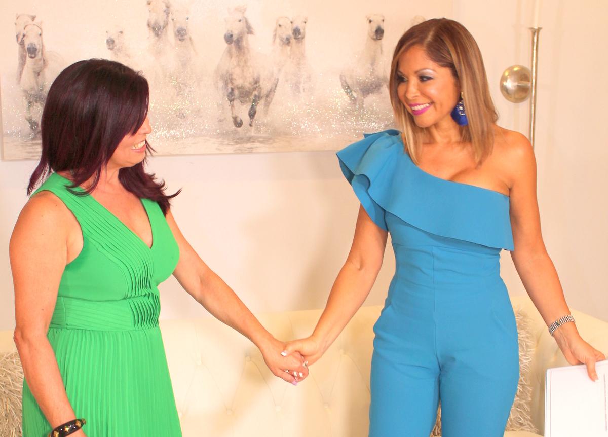 jenna levine en Miami Fashion Spotlight TV